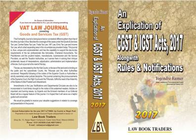 An Explication of CGST & IGST Acts, 2017